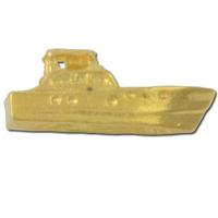 Motor Boat 3 Lapel Pin