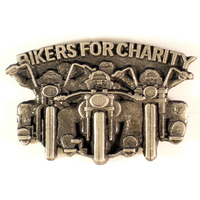 Bikers For Charity Lapel Pin