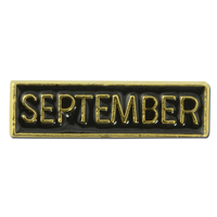 Month of the Year Lapel Pin