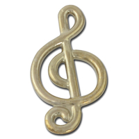 Treble Clef Lapel Pin