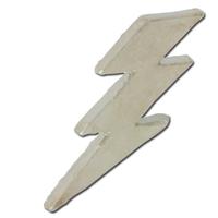 Lightning Bolt 2 Lapel Pin