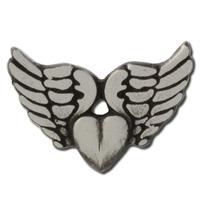 Winged Heart Lapel Pin