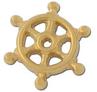 Ships Wheel Lapel Pin