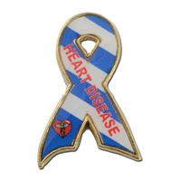 Heart Disease Awareness Lapel Pin