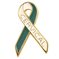 Cervical Cancer Awareness Lapel Pin