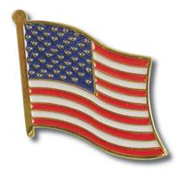 US American Flag Lapel Pin