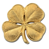 Four Leaf Clover Lapel Pin