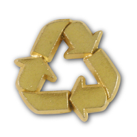 Recycle Logo Lapel Pin