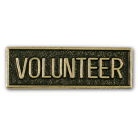 Volunteer Lapel Pin