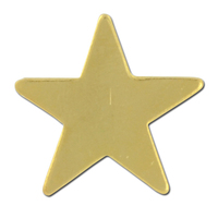 Flat Star Lapel Pin