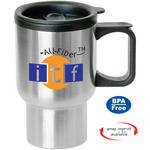 Bishop - 16 oz Stainless Steel Travel Mug