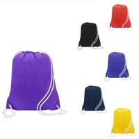 Summit nylon drawstring backpack