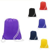 Summit nylon drawstring backpack