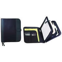 Zipper Padfolio with Dividers