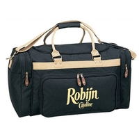 Two-Tone Deluxe Travel Bag