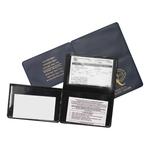 3 Panel License/Liability Card Holder