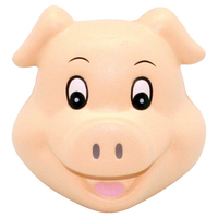 Squeezies® Cute Pig Head stress reliever