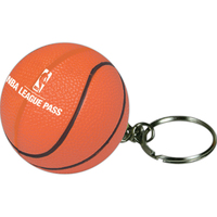 Squeezies® Basketball Keyring Stress Reliever