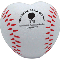 Squeezies® Baseball Heart Stress Reliever