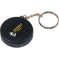 Squeezies® Hockey Puck Keyring Stress Reliever