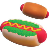 Squeezies® Hot Dog Stress Reliever