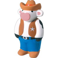 Squeezies® Cowboy Cow Stress Reliever