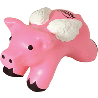 Squeezies® Pig with Wings Stress Reliever