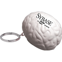Squeezies® Brain Keyring Stress Reliever