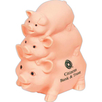 Pig-Pile Flesh Happy Family Bank
