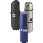 16.9 Stainless Steel Thermo Bottle with Case