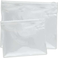See-thru zip pouch