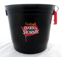 Party Bucket with handles and attached bottle opener