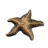 Starfish 3-D Lapel Pin