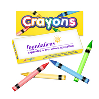 Four Pack Crayon Box