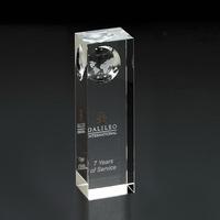 Atlas Pillar Globe Medium Award
