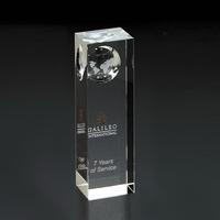 Atlas Pillar Globe Large Award