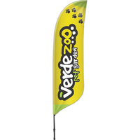 Blade Flutter Banner Wind Flag 2 Sided-FREE SHIPPING