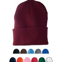 Cuffed knit cap