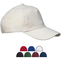 Five Panel Brushed Twill Unstructured Cap