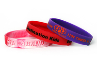 Debossed Silicone Wristband
