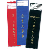 Blue Vendor Tail-Type Award Ribbon