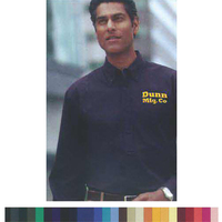 Men's Long Sleeve Cotton/Poly Oxford Button-DownShirt Rx