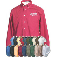 Chestnut Hill Men's 32-Singles Long Sleeve Twill Shirt Rx