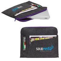 Felt Laptop Sleeve W/ Pocket