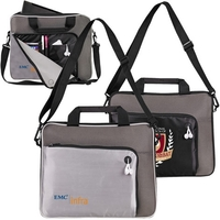 """13"""" Padded Compact Notebook Briefcase"""
