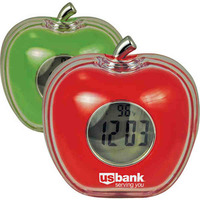 Talking Apple Shaped Alarm Clock