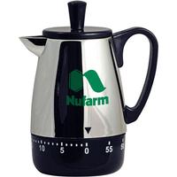 Coffee Pot Shaped Kitchen Timer