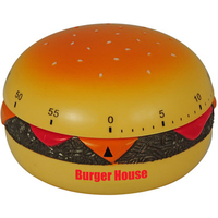 Hamburger Shaped Kitchen Timer