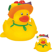 Rubber Eat Healthy Duck