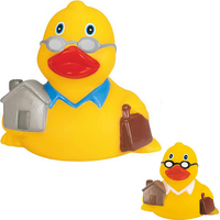 Rubber Real Estate Duck